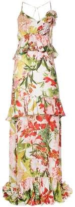 Josie Natori Paradise Floral dress