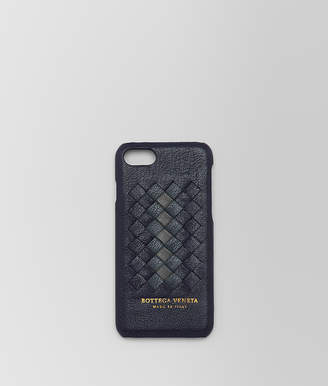 Bottega Veneta DARK NAVY INTRECCIATO NAPPA CLUB IPHONE 7 CASE