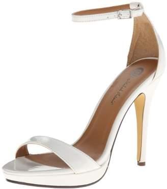 Michael Antonio Women's Lovina-Ptn Platform dress Sandal
