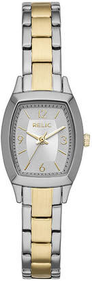 RELIC Relic Womens Two Tone Bracelet Watch-Zr34501
