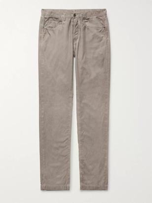 Massimo Alba Cotton-Velvet Trousers