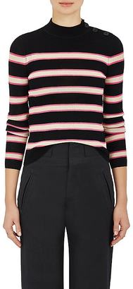Isabel Marant Étoile Women's Devona Striped Sweater $270 thestylecure.com