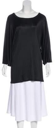 The Row Short Sleeve Oversize Blouse