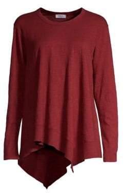 Wilt Asymmetric Ribbed Long-Sleeve Shirt