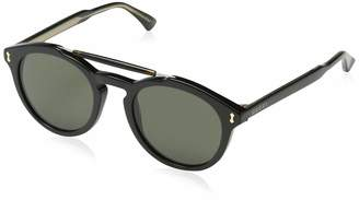 Gucci 0124S 001 Black Grey