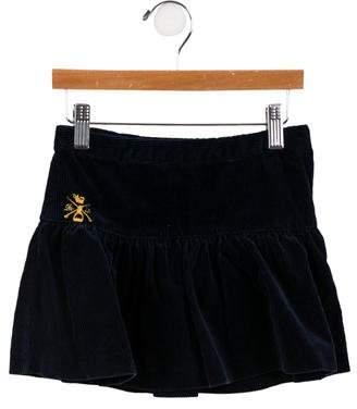 Ralph Lauren Girls' Logo Corduroy Skirt