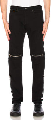 Givenchy Distressed Biker Jeans
