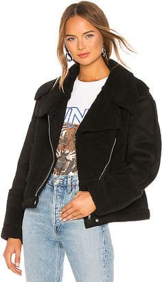 MinkPink Alissa Sherpa Faux Fur Jacket