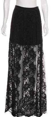 Alexis Lace Maxi Skirt w/ Tags
