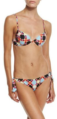 Emilio Pucci Monreale Printed Bikini Set $455 thestylecure.com