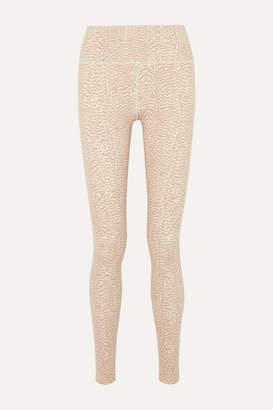 Varley Duncan Printed Stretch Leggings - Blush