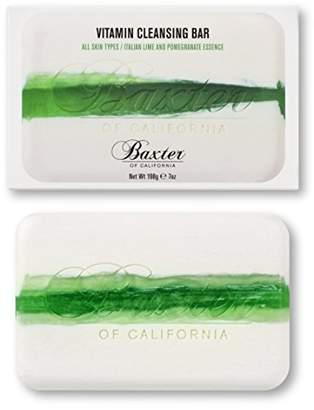 Baxter of California (バクスター オブ カリフォルニア) - Baxter OF CALIFORNIA(バクスター オブ カリフォルニア) ビタミンクレンジングバー イタリアンライム&ポメグラネート 198g