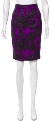 Proenza Schouler Brocade Knee-Length Skirt