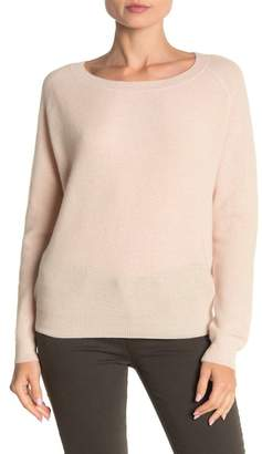 THE CASHMERE PROJECT California Cashmere Waffle Sweater