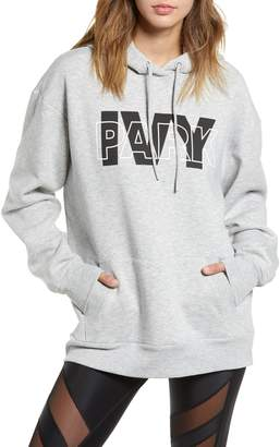 Ivy Park R) Layer Logo Graphic Hoodie