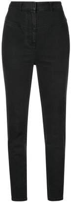 Tibi Jamie flat front jeans