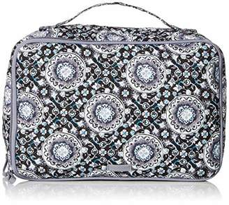 Vera Bradley Iconic Large Blush & Brush Case