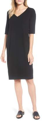 Eileen Fisher Stretch Jersey Shift Dress