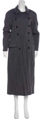 Dries Van Noten Double-Breasted Trench Coat
