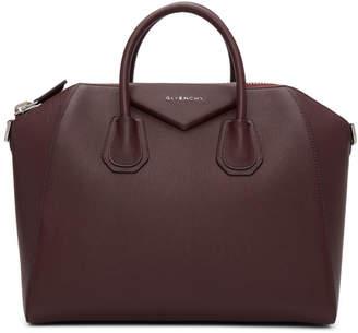Givenchy Burgundy Medium Antigona Bag