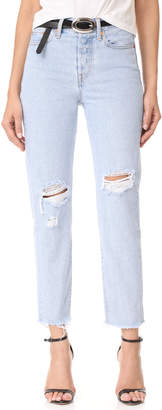Levi's Wedgie Jeans $98 thestylecure.com