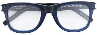 Saint Laurent Eyewear square frame optical glasses