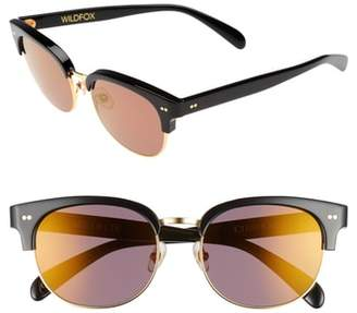 Wildfox Couture Clubhouse 50mm Semi-Rimless Sunglasses