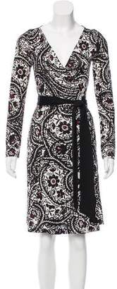 Diane von Furstenberg Silk Abrigo Dress