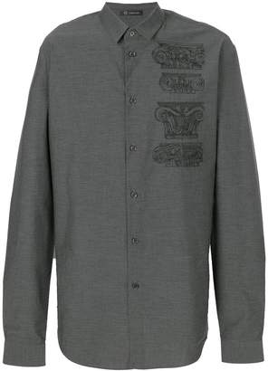 Versace embroidered Capitelli shirt