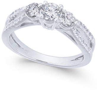 Macy's Diamond Engagement Ring (1 ct. t.w.) in 14k White Gold