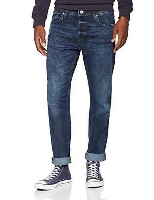 Jack and Jones Men's Jjimike Jjoriginal Am 771 Noos Loose Fit Jeans, Blue Denim, W36/L36