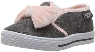 Osh Kosh Girls' Edie Casual Slip-on Sneaker