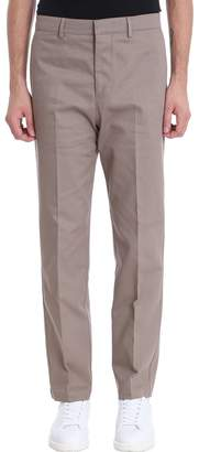 Golden Goose Beige Cotton Chino Pants