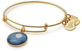 Alex and Ani Charity By Design Simplify Charm Expandable Wire Bracelet