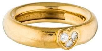 Tiffany & Co. Vintage Diamond Heart Ring