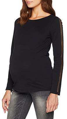 Esprit Women's T-Shirt Ls Maternity Long Sleeve Top,(Manufacturer Size: M)