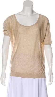Zadig & Voltaire Scoop Neck Dolman Sleeve Sweater