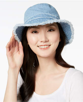 August Hats Cotton Denim Floppy Hat