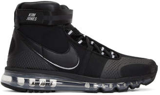 Nike Black Kim Jones Edition Air Max 360 High-Top Sneakers