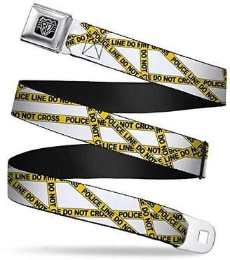 Buckle-Down Unisex-Adult's Seatbelt Belt Police XL