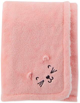 Carter's Baby Girls Plush Blanket