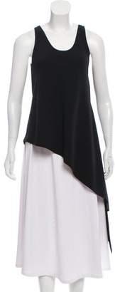Balenciaga Sleeveless Asymmetrical Top