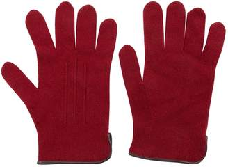 Hermes Burgundy Cashmere Gloves