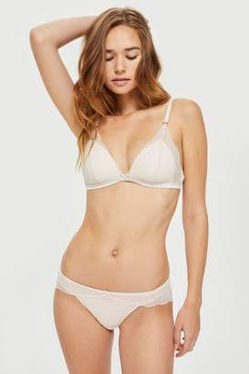 Topshop Wavey Lace Mini Knickers