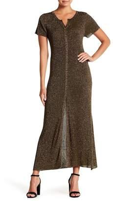 Muche et Muchette Cynthia Metallic Knit Maxi Dress