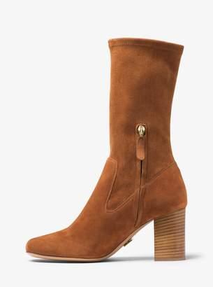 Michael Kors Eloise Suede Mid-Calf Boot