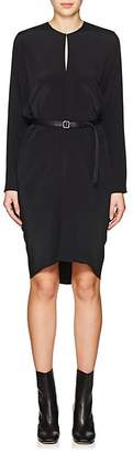 Zero Maria Cornejo Women's Libe Silk Crepe Belted Dress
