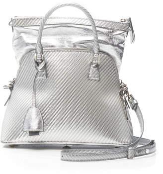 Maison Margiela 5AC Textured Leather Top Handle Bag