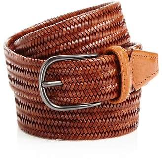 Anderson's Leather Braid Belt $185 thestylecure.com