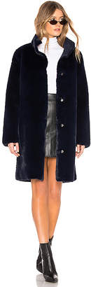 Velvet by Graham & Spencer Mina Faux Fur Coat
